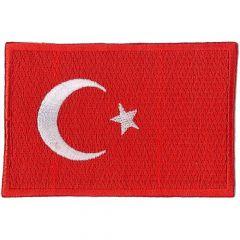 Applicatie Vlag Turkije - 5st