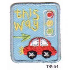 Applicatie This way verkeerslicht - 5st