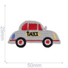 HKM Applicatie taxi 50x25mm wit - 5st