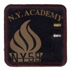 Applicatie N.Y. ACADEMY bruin - 5st