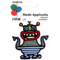 Applicatie Monster met rode mond - 5st