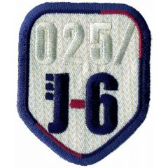 Applicatie wapen J-6 met rand - 5st