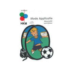 Applicatie Knie-Elleboogstukken voetbal 2 stuks - 5 sets