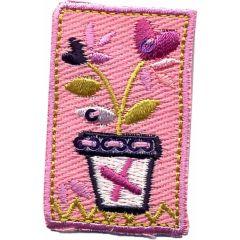 Applicatie Bloemen rozen - 5st