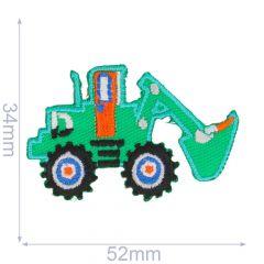 Applicatie Graafmachine groen - 5st