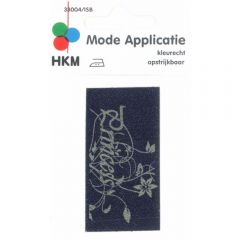 Applicatie Princess Jeans Gelaserd - 5st