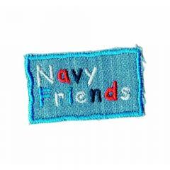 Applicatie Jeans Navy friends - 5st