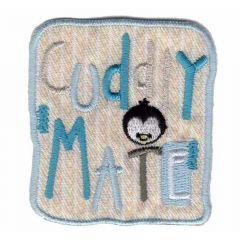 Applicatie Buddy Mate met pinguin - 5st
