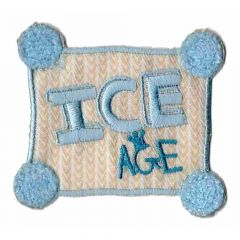 Applicatie Vierkant ICE AGE- 5st