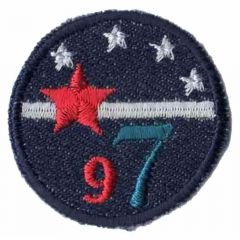 Applicatie Button jeans 97 - 5st