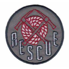 Applicatie Rescue button khaki/blauw - 5st