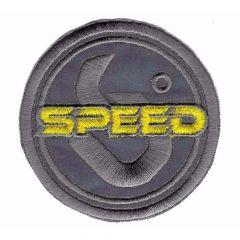 Applicatie Reflectie speed geel/rood - 5st