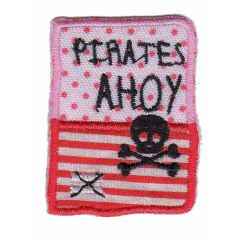 Applicatie Button pirates ahoy - 5st