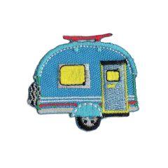 Applicatie Caravan blauw - 5st