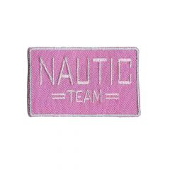 Applicatie Nautic Team roze/beige - 5st
