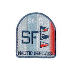 Applicatie Wapen SF oranje (met rode vlaggetjes) - 5st