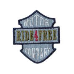 Applicatie Ride 4 free rood/blauw/ jeans - 5st