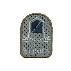Applicatie wapen heroes grijs/blauw - 5st