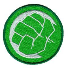 Applicatie Button Hulk vuist - 5st