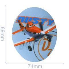 Applicatie Disney ovaal Planes assortiment 2 stuks - 6 sets