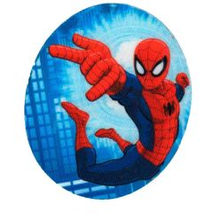 Applicatie Spiderman ovaal assortiment 2 stuks - 6 sets