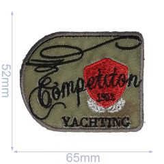 HKM Applicatie competition yachting 65x52mm - 5st