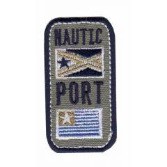 Applicatie Nautic Port met 2 vlaggen - 5st