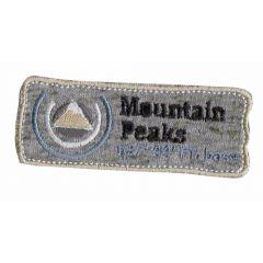 Applicatie Mountain Peaks bruin - 5st