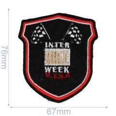 Applicatie Wapen Interbike week zwart - 5st