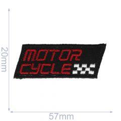 Applicatie Motorcycle klein zwart/grijs - 5st