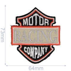 Applicatie Motor Racing Company zwart/grijs - 5st