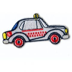 Applicatie Taxi Geel/Grijs - 5st