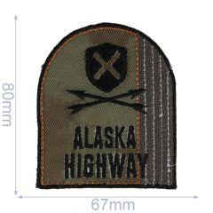 HKM Applicatie Alaska highway 67x80mm - 5st
