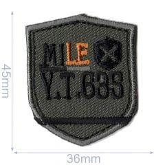 HKM Applicatie mile 36x45mm - 5st