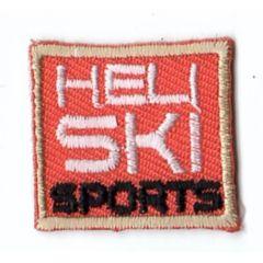 HKM Applicatie heli ski sports vierkant - 5st