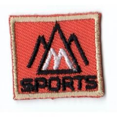 HKM Applicatie sports vierkant - 5st