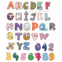 HKM Applicatie letter A-Z - 5st