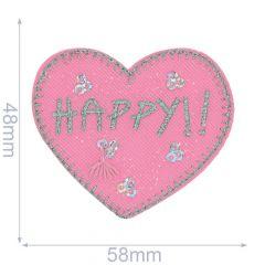 Applicatie Hart HAPPY - 5st
