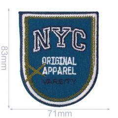 Applicatie schild NYC Original Apparel - 5st