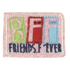 HKM Applicatie BFF roze jersey - 5st