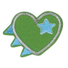 HKM Applicatie hart met sterren - 5st