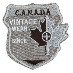 HKM Applicatie Canada vintage wear grijs - 5st