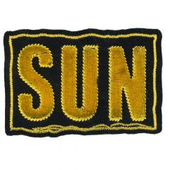 HKM Applicatie zon geel - 5st