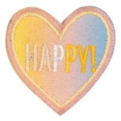 HKM Applicatie hart happy - 5st