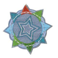HKM Applicatie sterren in een cirkel - 5st
