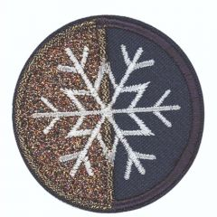 HKM Applicatie sneeuwvlok - 5st