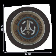 HKM Applicatie air force sky met anker - 5st