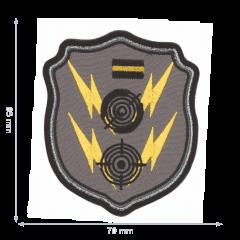 HKM Applicatie schild met bliksemschichten - 5st