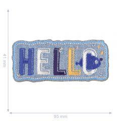 HKM Applicatie hello jeans - 5st