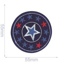 HKM Applicatie sterren in cirkel - 5st